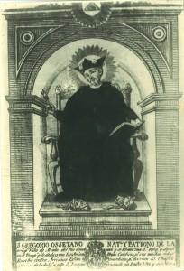 SAN GREGORIO GRABADO 1816
